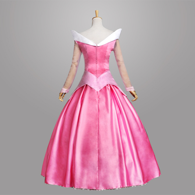 Y Pink Womens Princess Aurora Costume For S Dress Sleeping Beauty Child Cosplay