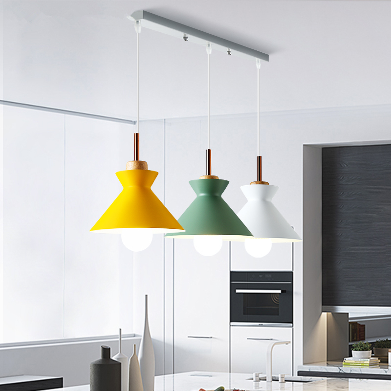 Lights & Lighting Symbol Of The Brand Modern Led Chandelier Nordic Hanging Lights Kitchen Illumination Bedroom Lighting Fixtures Novelty Glass Suspended Lamps Chandeliers