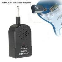 Joyo JA-01 Gitaar Versterker Mini AMP MP3 Gitaar Audio Pocket Micro Plug Hoofdtelefoon instrumenten guitarra Ingang 3.5mm met Oortelefoon