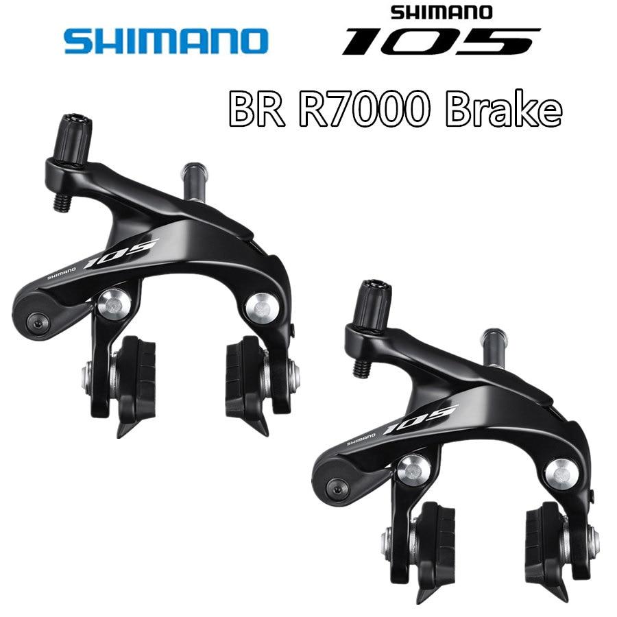 Тормоз SHIMANO 105 BR R7000, двухповоротный тормозной суппорт R7000, тормозной суппорт для дорожных велосипедов, передний и задний тормоз 5800