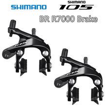 Shimano 105 freio br r7000 duplo-pivô pinça de freio r7000 bicicletas estrada pinça de freio dianteiro & traseiro 5800
