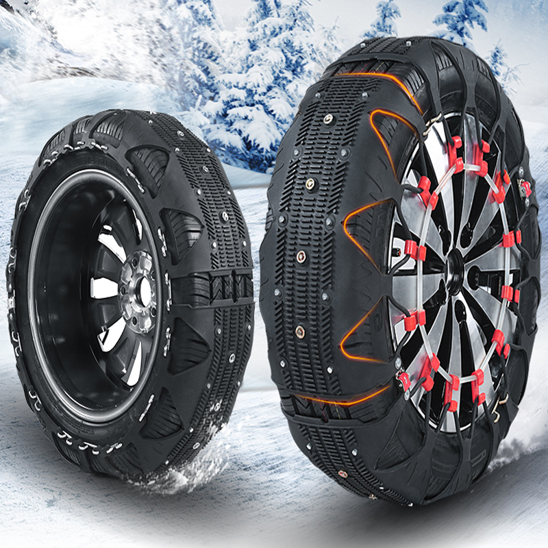 Auto Tire Snow Chain Automatically Tightened SUV Small Car General Universal Model Ice Break Winter Accessories