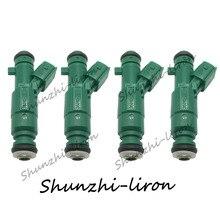 4pcs Fuel Injector Nozzle For HYUNDAI 2011-2014 ELANTRA 1.8L L4 OEM 35310-2E100 353102E100 35310 2E100 4pcs fuel injector nozzle for hyundai 2011 2014 elantra 1 8l l4 oem 35310 2e100 353102e100 35310 2e100