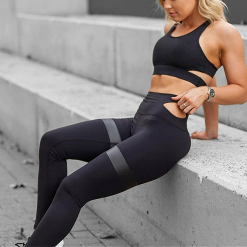 d5fd5490ba772 GXQIL Sport Suit Women Tracksuit 2018 Woman Sportswear Fitness Yoga Set  Sport Bra Leggings Suit Gym Running Kit Dry Fit Workout