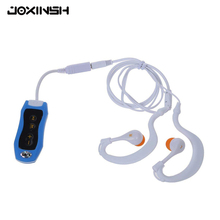 Mini MP3 Player FM Radio 4G/8G Swimming Diving Surfing IPX8 Waterproof Outdoor Sport Music