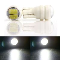 500PCS/lot T10 W5W 194 168 5630 2 SMD 2 Led 5630 Auto Instrument Led Lights Car License Plate Lamps Interior Light