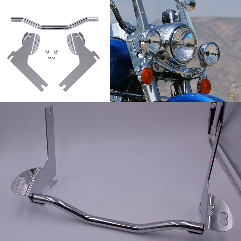Spot Passing Light Lamp Turn Signal Bar For 1994-2013 Harley Davidson Road King, Electra Glide, And Touring Models