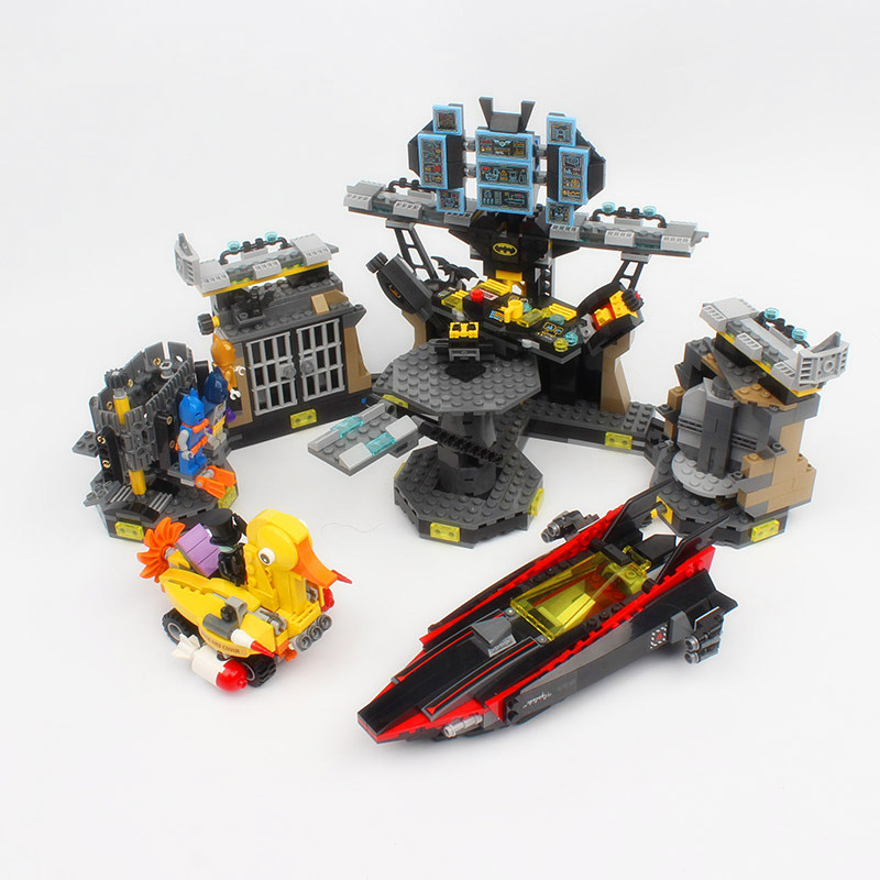 Lepin Batman 07052 Genuine Movie Series Compatible with legoe 70909 The Batcave Break-in Building Blocks Bricks Toys for child kazi 608pcs pirates armada flagship building blocks brinquedos caribbean warship sets the black pearl compatible with bricks