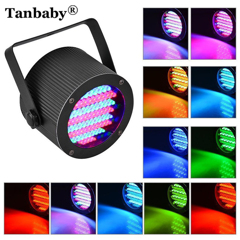 Tanbaby Stage Lights 86LED RGB DMX-512 Stage Lighting Projector Par Lights Party Disco Show Pub KTV Dj Light EU or US AC85-265V