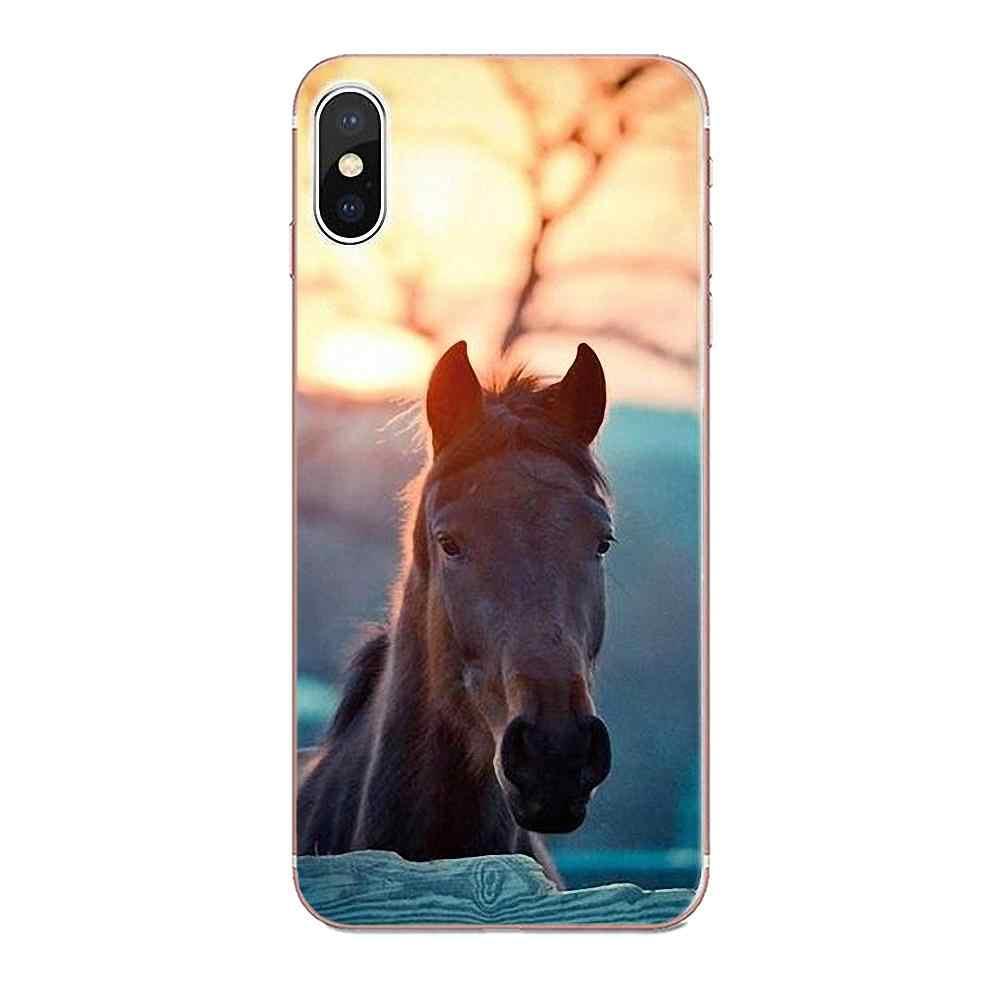 TPU أعلى بيع كبيرة جميلة الخيول تشغيل لهواوي زميله 7 8 9 10 20 P8 P9 P10 P20 P30 لايت زائد برو 2017