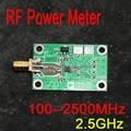 100 ДО 2500 МГц РФ измеритель мощности логарифмическая обнаружения обнаружения питания FM HF UHF Плата ДЛЯ Усилителя dc 6 В-15 В 12 В