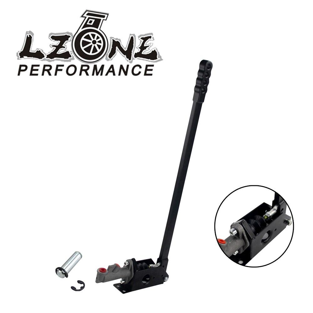 LZONE RACING Hydraulic Drift Handbrake Lever Vertical with Locking Device Long Handle 600mm JR3658BK