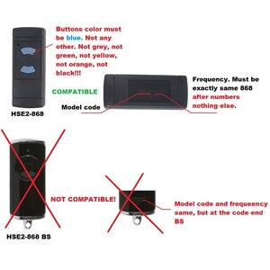 Image 3 - Remote Garage Door Opener Gate Remote Clone For Hormann hsm2 hsm4 hs1 hs2 hs4 hse2 hsz1 hsz2 hsp4 868