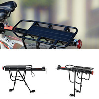 High Quality Aluminium Alloy Bike Carrier Outdoor Camping Trip Luggage Carrier Bicycle Rear Rack Quick Release