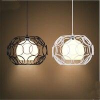 Modern Glass Ball Pendant Lights Globe Lamp Kitchen Hanging Lamp Retro Pendant Lights Living Room Kitchen Dining Room