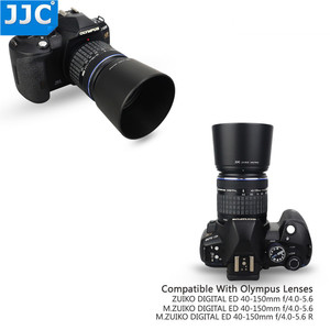 Image 3 - JJC Reversible Lens Hood Shade For OLYMPUS M.ZUIKO  DIGITAL ED 40 150mm 1:4.0 5.6 R Repaces Olympus  LH 61D Black Silver