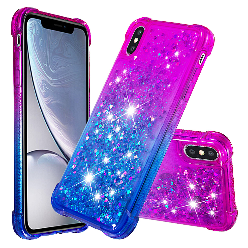 The LIQUID GLITTER Case - PURPLE - iPhone 6 Fundas IPhone