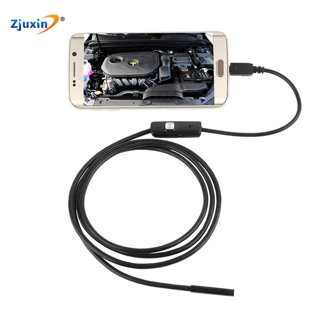 5.5mm  Android OTG USB Endoscope Camera 5M 3.5M 2M 1.5M 1M  USB Android Phone Borescope Camera