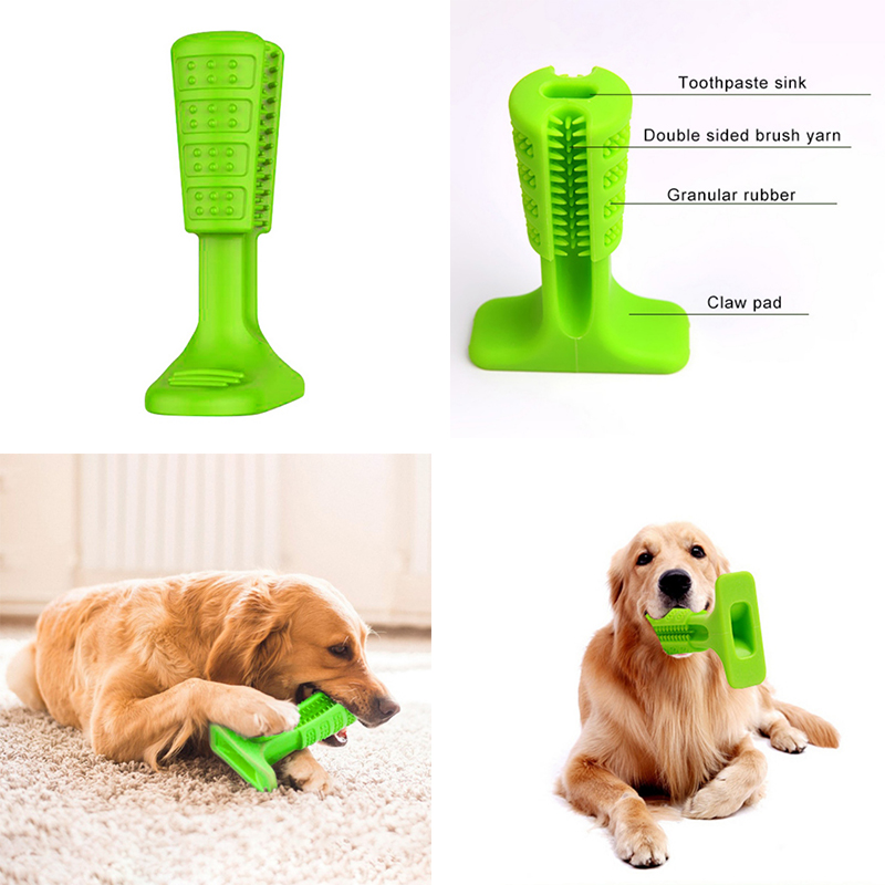 Hund Zahnbürste Bürsten Stick Welt der Effektive Zahnbürste für Hunde Hygiene Spielzeug Bürsten Stick Pet Molaren Zahnbürste