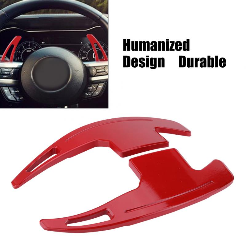 Auto Steering Wheel Paddle Shift Blade Decorative Trim for Ford Mustang 2015 2017