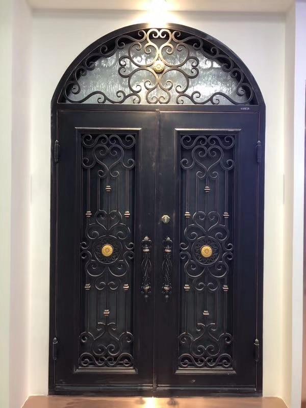 Hench 100% Steels Metal Iron Garden Door