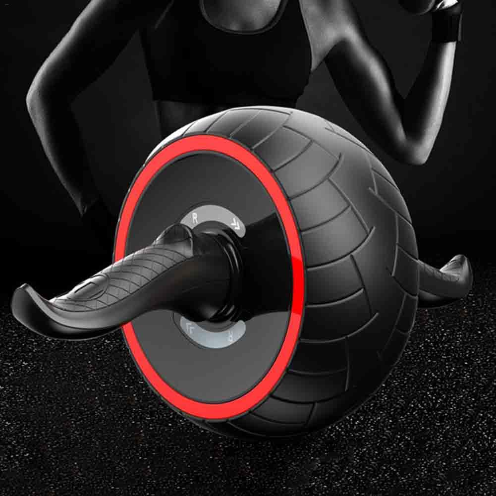 Sound Proof Anti-noise AB Roller Abdomen Power Roller Round Abdominal Wheel Muscle Exercise Training Wheel ...