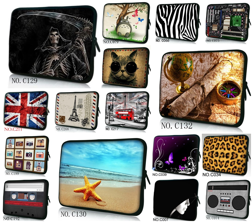New Neoprene Laptop For Mac Air Pro 13 Case For Macbook Air 11 13 Pro 13 15 Retina For Mac book Pro 13 Case Free Shipping