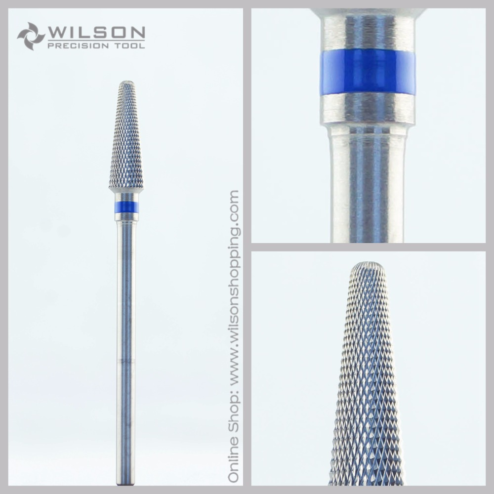 Diamond Cut - Standard(5001705) - ISO 191 - Tungsten Carbide Burs - WILSON Carbide Nail Drill Bit&Dental Burs