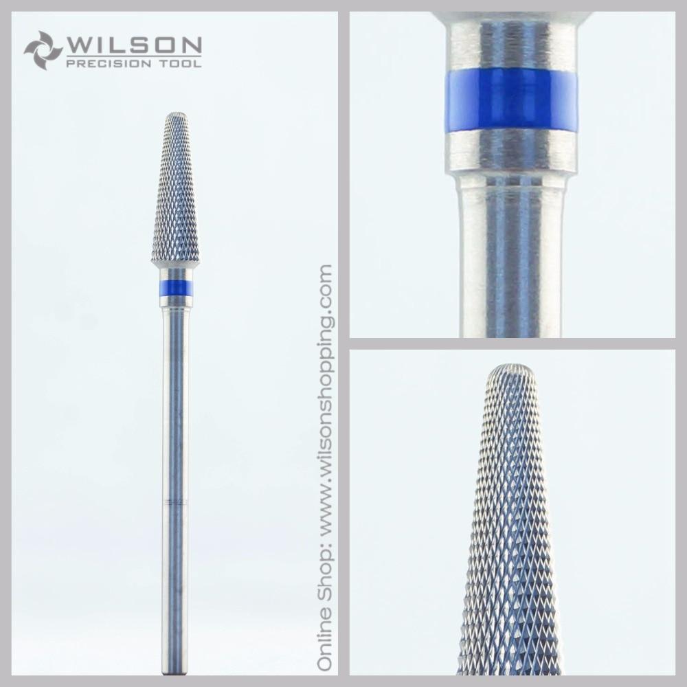 Diamond Cut - Standard(5001705) - ISO 191 - Tungsten Carbide Burs - WILSON Carbide Nail Drill Bit&Dental Burs