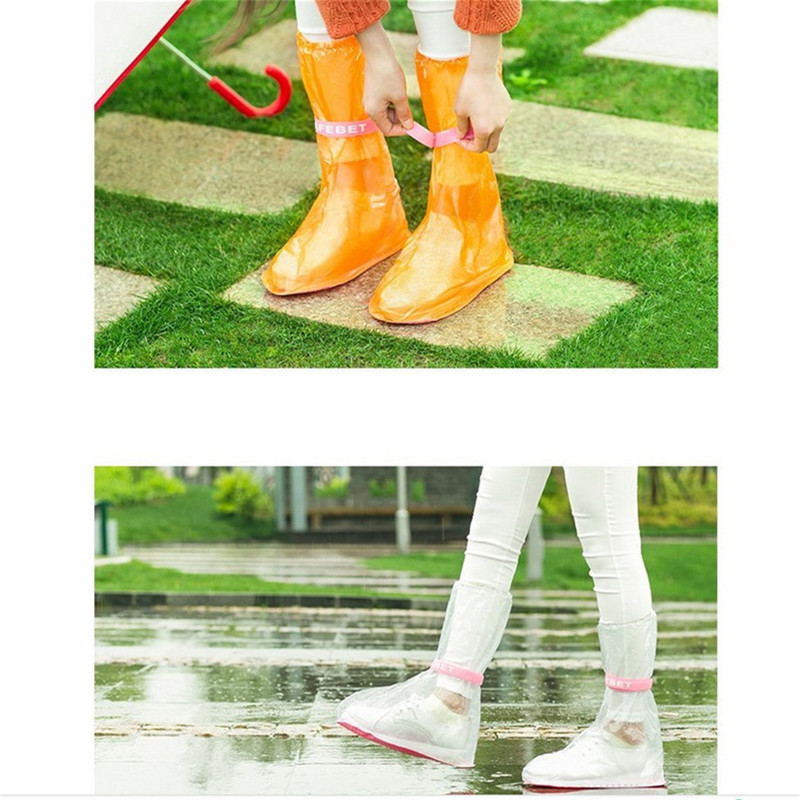Event & Party Festive & Party Supplies Reasonable Rain Shoes Cover Reusable Waterproof Long And Tube-shaped Rain Shoes Cover Women/men/kids Children Non-slip 7zcf097 Carefully Selected Materials