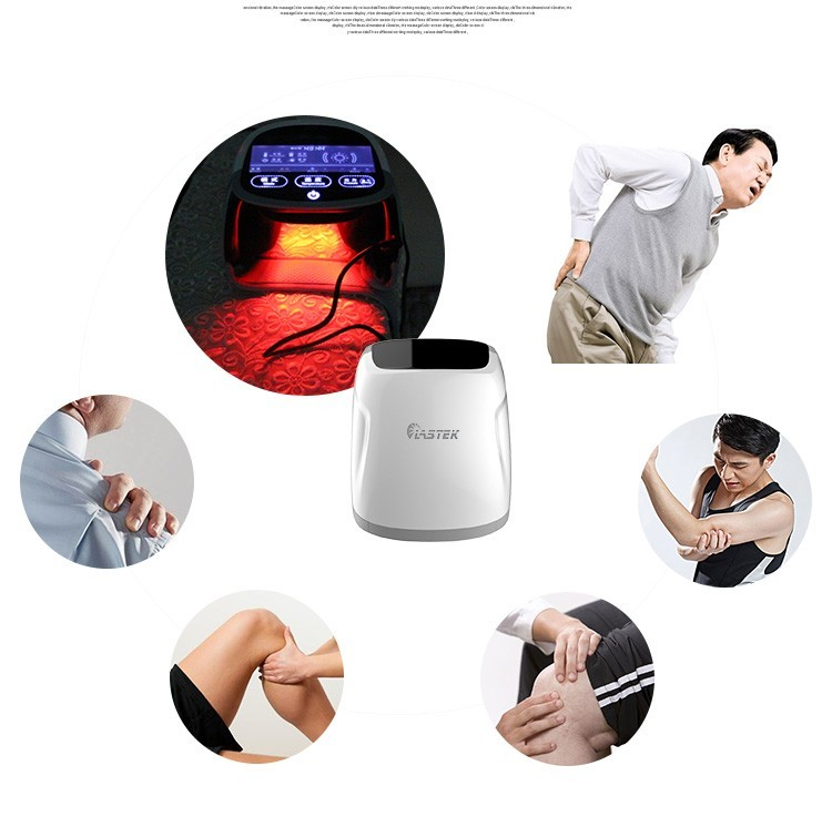 portable Knee Massager with heating laser therapy equipment for knee pain relief 808 nm cold laser therapy for arthritis muscles pain knee pain relief healthcare physiotherapy device massager machine