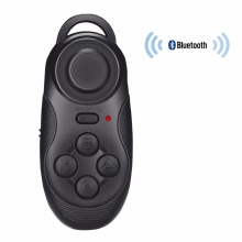 Wireless Bluetooth Gamepad Remote Controller for 3D VR Glasses Camera Shutter Wireless Mouse Music Player Tablet PC TV