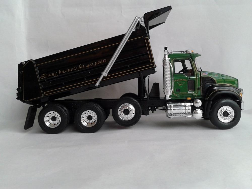first gear 134 scale mack granite heavy duty dump truckchina - Toy Dump Trucks
