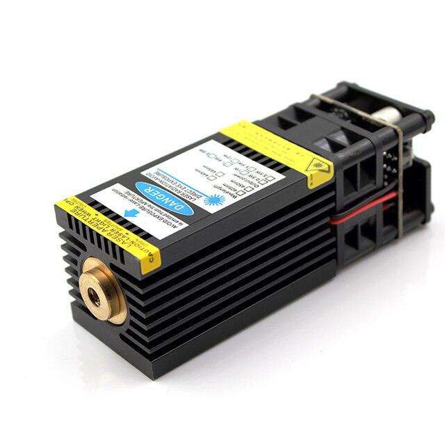 Oxlasers yüksek güç 12V 3PIN 15W 15000mW mavi lazer kafası DIY lazer gravür ve CNC kesim lazer modülü ücretsiz kargo