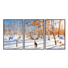 Factory wholesale (No Framed) Elk series poster Canvas Print On Printing Wall Pictures 12YM-A-702