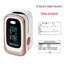 Finger Pulse Oximeter With 4 Parameters (SPO2,PR,PI,ODI4)