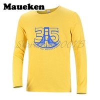 Для мужчин осень-зима Кевин Дюрант #35 доверять метеоролог Для мужчин футболка KD футболка с длинным рукавом Футболки футболка W1101136