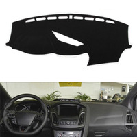Fit For Ford For Focus 2013 2016 Car Dashboard Cover Avoid Light Pad Instrument Platform Dash