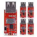 5 x DC-DC 12/24V to 5V 3A USB Car Charger Step-down Buck Power Module For Mobile Phone ME3L