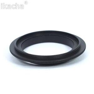 """Image 3 - 49/52/55/58/62/67/72/77 מ""""מ מאקרו עדשה הפוך מתאם טבעת עבור Canon EOS 1200D 1100D 760D 750D 700D 600D 650D 70D 5DII 7D DSLR"""