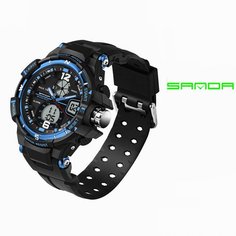 SANDA 789 Fashion Children Watch Student LED Digital Clock Date Alarm Digital Wrist Watch Boys Grils unisex Gifts Hours 2018 new