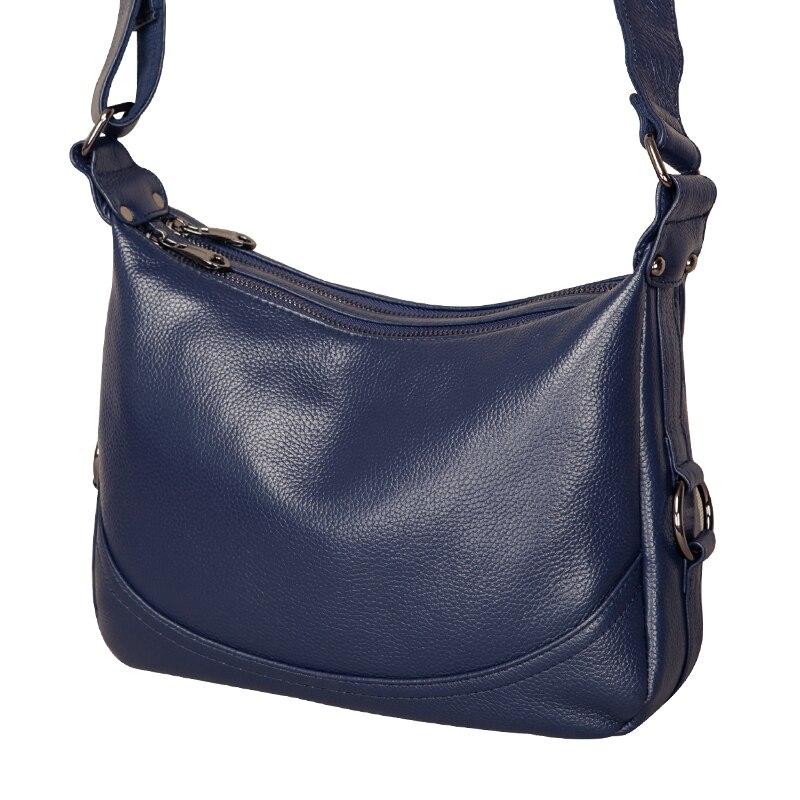 Prawdziwej skóry torba kobieca panie Crossbody torba na ramię luksusowe torebki moda torba damska duża torba materiałowa sac głównym w Torebki na ramię od Bagaże i torby na  Grupa 2