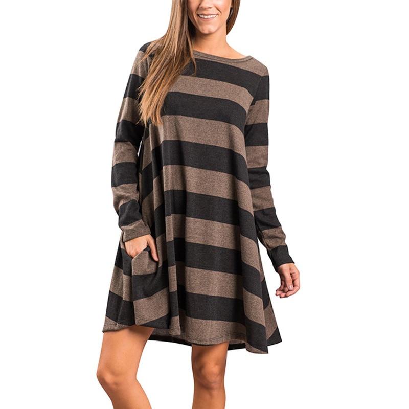 Women Winter Long Sweater Dress Full Sleeve V-Neck Straight Knitted Vestidos Split Plus Size Robe Pull Femme Ladies Clothes