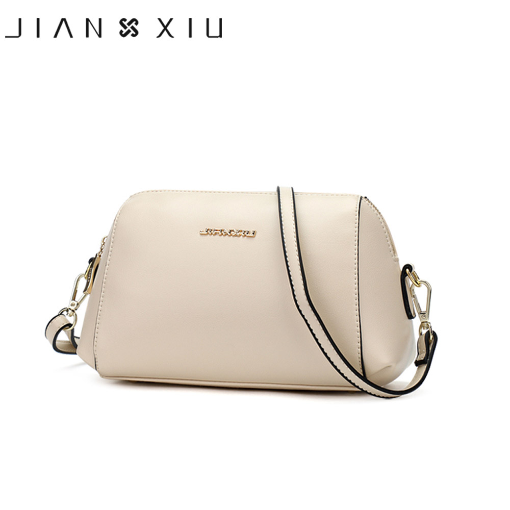 все цены на JIANXIU Brand Fashion High Quality Women Messenger Bags Pu Leather Female Crossbody Bag 2017 New Small Ladies Flap Shoulder Bag