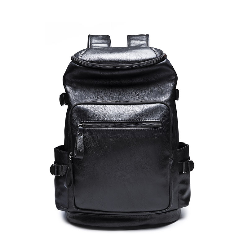 Mochila Masculina Men Laptop backpacks Women Rucksacks waterproof Leather Backpack School Bags for Male Back Pack Travel bag sac