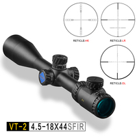DISCOVERY optical sight VT 2 4.5 18X44 SFIR Hawke reticle Tactical Mil dot illuminated with side focus hunting rifle scope