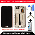 AAA Quality! Original LCD +Original Frame For MEIZU M2 Note Lcd Display Screen Replacement For MEIZU M2 Note Digiziter Assembly