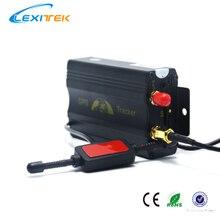 Автомобильный gps трекер TK103 GSM GPRS gps чип SiRF III Simcom Sim340 для автомобиля Черный