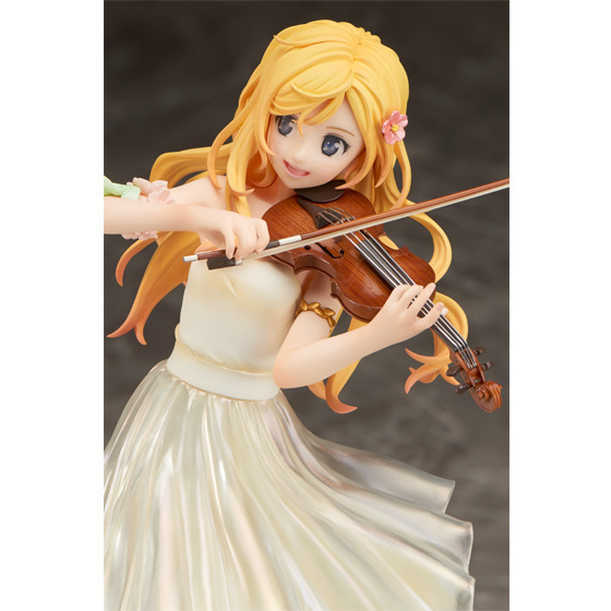 Your Lie in April Miyazono Kaori with Violin Action Figure