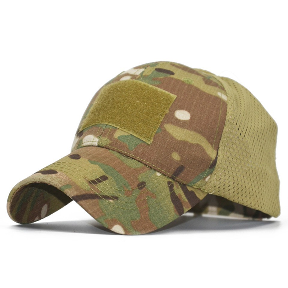 81fc49dc3 US $3.53 31% OFF|Woodland Marpat Low Crown Multicam Operator Hat Camo Mesh  Cap Airsoft Hats Tactical Contractor Army Baseball caps Hat Cap-in Hunting  ...
